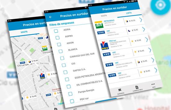 """La app """"Precios en Surtidor"""" ya fue descargada por 20.152 usuarios"""