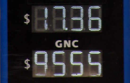Según el ENARGAS, el precio promedio país del metro cúbico de GNC de Julio es $ 11.09