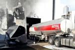 Explosión de un tanque de combustible instalado en un depósito de un supermercado de manera irregular