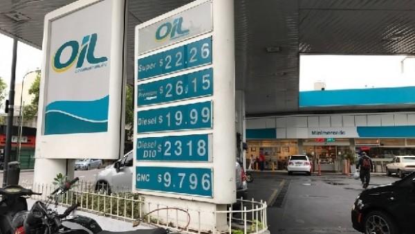 Al igual que Shell, Oil baja el precio de sus combustibles